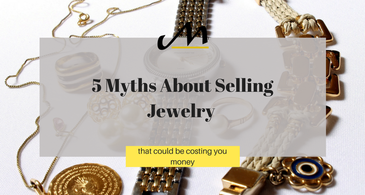 get the most money for selling jewelry white and yellow gold